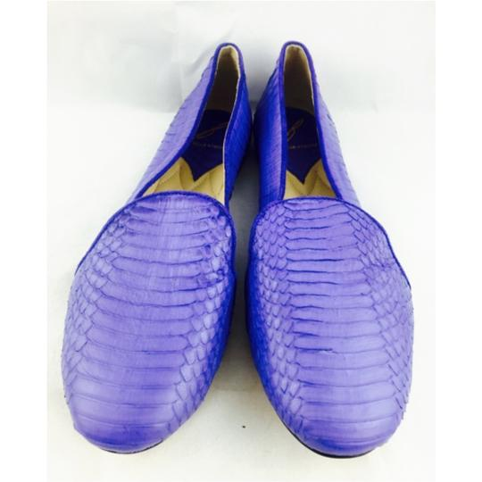 Brian Atwood Blue Flats Image 3