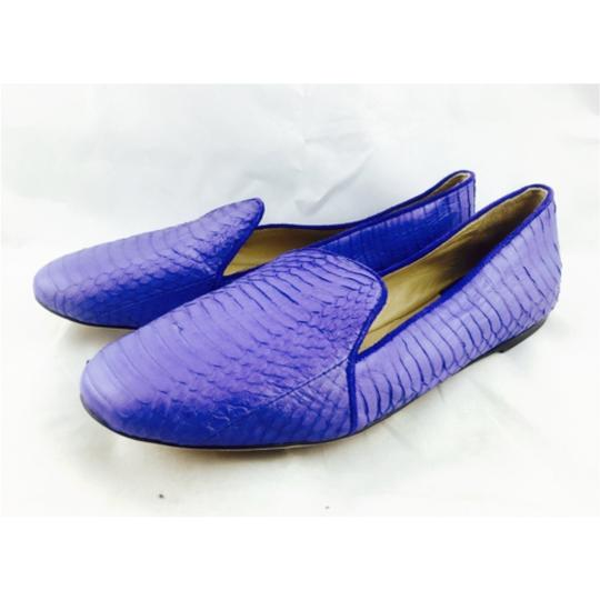 Brian Atwood Blue Flats Image 4