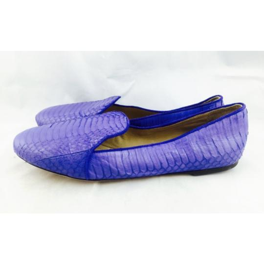 Brian Atwood Blue Flats Image 5