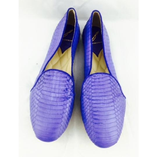 Brian Atwood Blue Flats Image 6