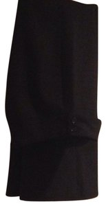 United Colors of Benetton Dress Boot Cut Boot Cut Pants Black