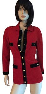 Chanel Jacket RED Blazer