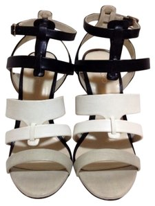 ALDO Heels High Stiletto Black White Gray Sandals