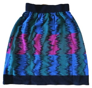 M Missoni Color Skirt Multi