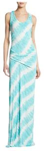 Turquoise Maxi Dress by Young Fabulous & Broke Tie Die Leighton