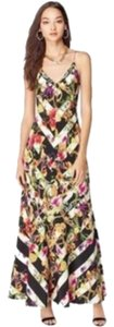 Juicy Couture Floral Stripe New With Tags Dress