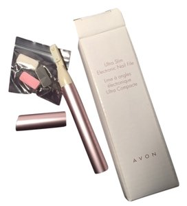 Avon Avon Ultra Slim Electonic Nail File Buffer Ridge Smoother New in Box