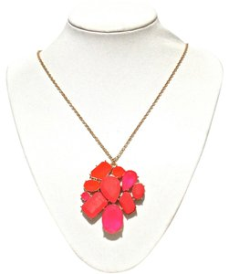Kate Spade Kate Spade New York Pink Crystal Fiesta Long Necklace