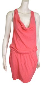 Michael Stars short dress PINK Drape on Tradesy
