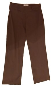 Nine West Rayon Trouser Pants Chocolate