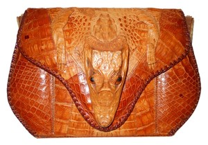 Alligator Vintage Shoulder Bag