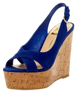 Dolce Vita Wedge Blue Wedges