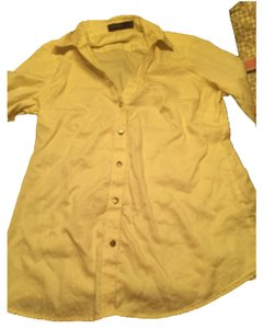 The Limited Button Down Shirt Yellow