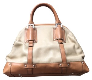Banana Republic Satchel in Tan