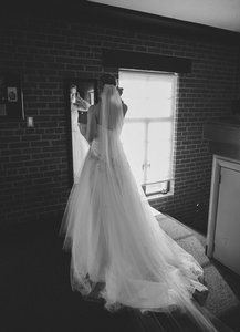 Cathedral Wedding Veil Long White 108