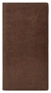 Fossil Ingram Secretary Wallet with Checkbook Cover