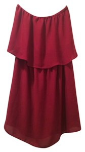 Coveted Clothing short dress Garnet on Tradesy