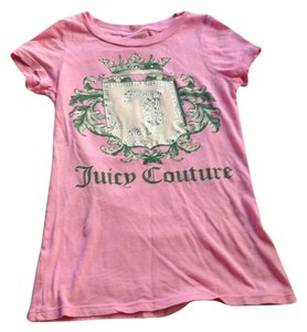 Juicy Couture Jewels T Shirt Pink