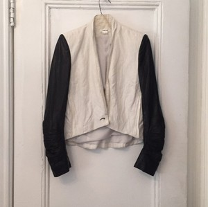 Theory Black and white Blazer