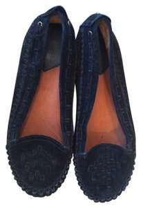 Lucky Brand Suede Moccasins Fall Black Flats