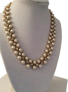 Kate Spade Kate Spade Twinkling Fete Necklace NWT Rare Classic Pearl & Crystal Collar