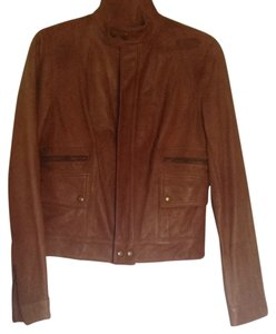 American Living Brown Leather Jacket