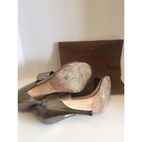 Gucci Champagne Gold Formal Image 2
