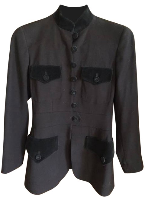 Item - Chocolate Brown Jacket Size 6 (S)