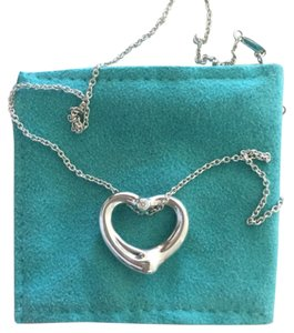 Tiffany & Co. Elsa Peretti Open Heart Pendent, Medium