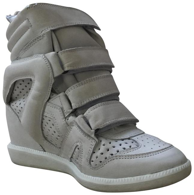 Item - White Brian Velcro Wedge Sneakers Size EU 39 (Approx. US 9) Regular (M, B)