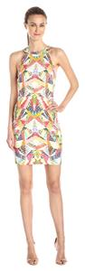 Nicole Miller Linen-blend Sheath Dress