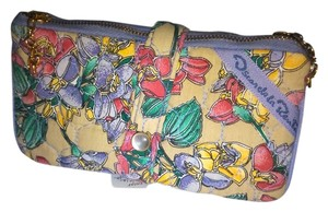 Oscar dela Renta Vintage 'Oscar de la Renta' Quilted Fabric Multi Function Make-Up Case.