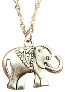New Silver Elephant pendant necklace, best friends gift