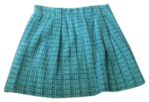 Jcrew Skirt Mini Skirt Blue