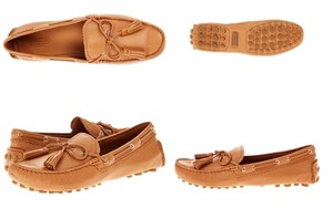 Coach Loafers Leather Loafers Nadia Leather Box Ginger Flats