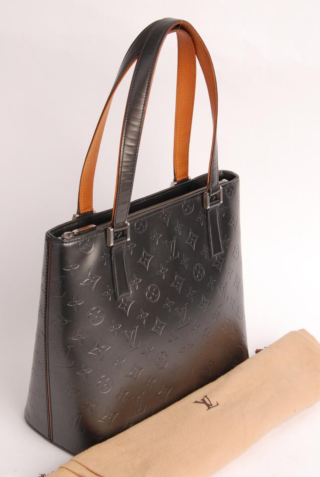 1e9bf466e8121 Louis Vuitton Monogram Vernis Houston Leather Limited Edition Tote in grey  Image 11. 123456789101112