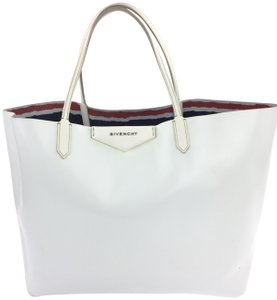Givenchy Antigona Large Shopper Tote in White