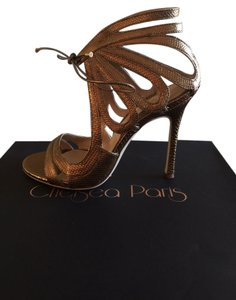 Chelsea Paris Gold Sandals