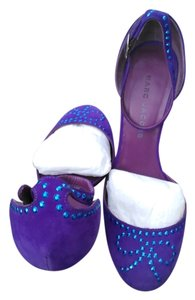 Marc by Marc Jacobs purple Wedges