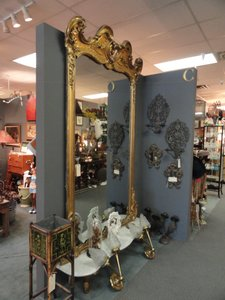 Antique Louis Xv French Mirror