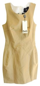 Dolce&Gabbana short dress Tan on Tradesy