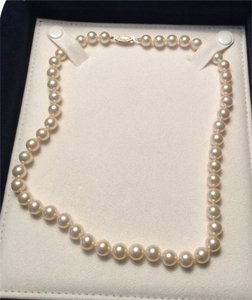 Other White Fresh Water Pearl 18in Necklace