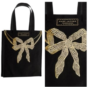 Marc Jacobs Tote in Black, Gold