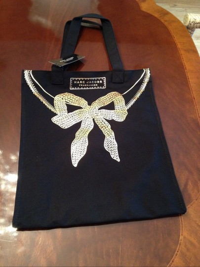 Marc Jacobs Tote in Black, Gold Image 2