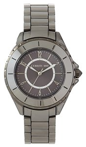 Cerruti Cerruti Black Ceramic & Stainless Steel Watch