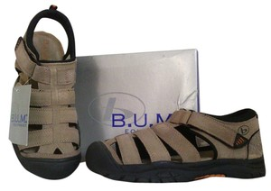 B.U.M. Equipment Closed Toe Sandal Suede Lined Non-marking Athletic