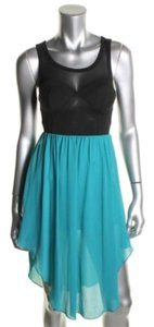 Black and Blue Maxi Dress by Material Girl