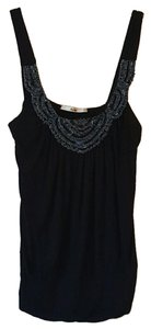 Papaya Beaded Top black