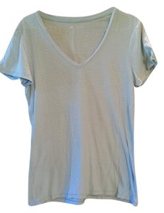Toad&Co Free Shipping Striped Size M Horny Toad Womens 10 12 M Ladies T Shirt Blue White