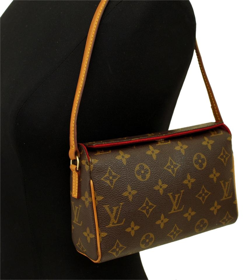 ca33b75de1ae Louis Vuitton Recital Vintage Monogram Leather Shoulder Bag - Tradesy
